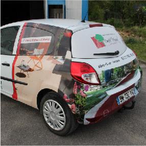 Vehicule covering partiel